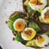Appetizer avocado bread breakfast 566566