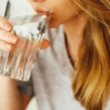 Woman drinking water 1458671