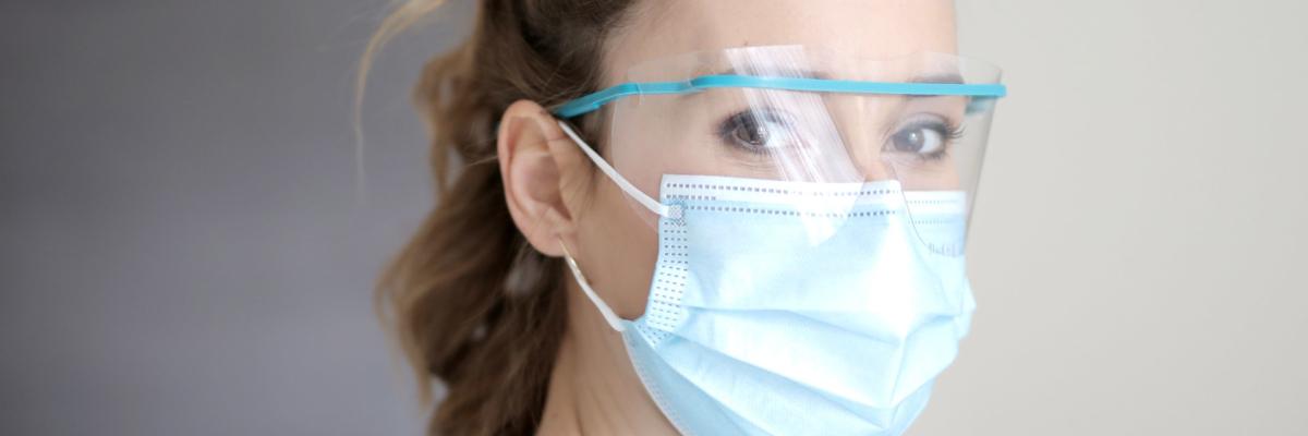 Woman facemask